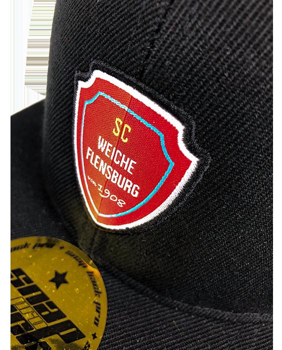 Cap Schwarz Detail