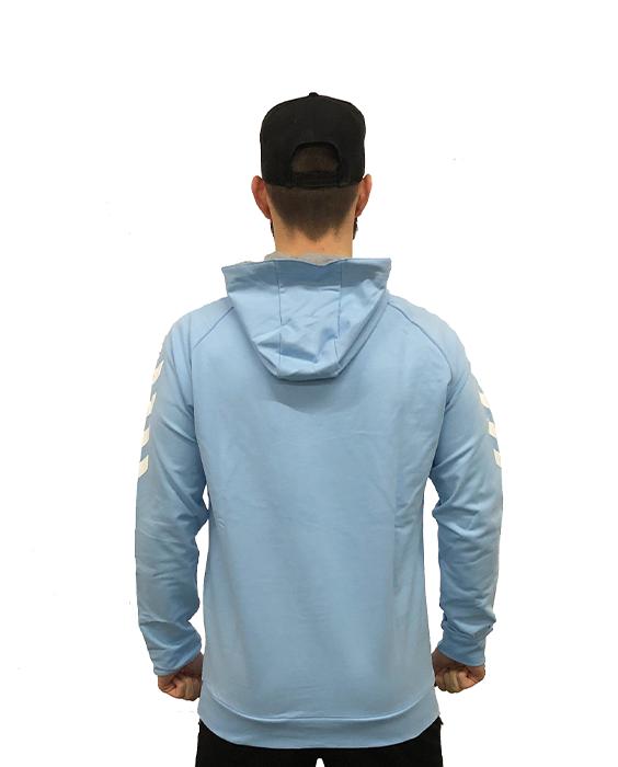 Hoodie Blau hinten
